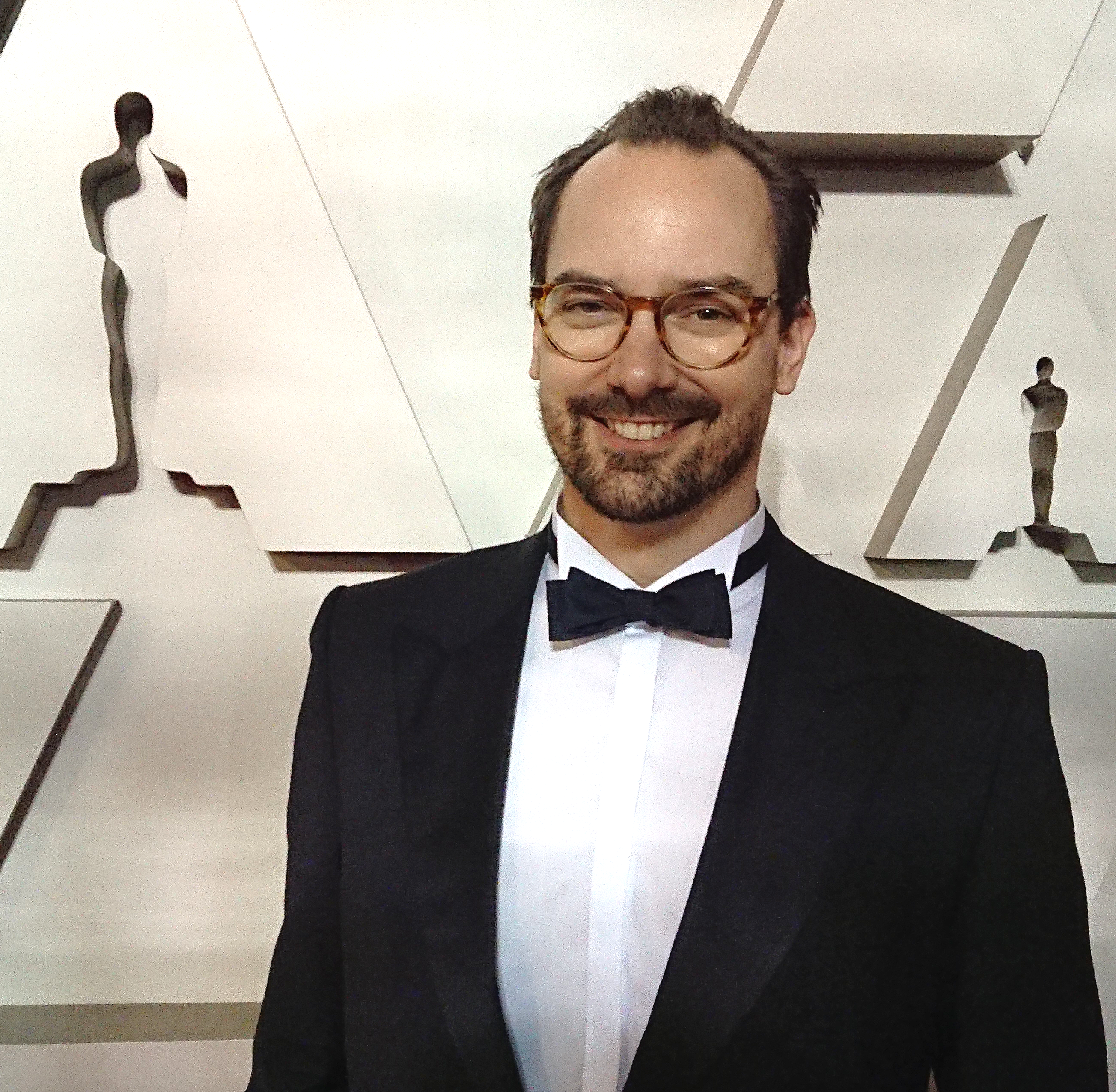Carsten-Pieter at The Oscars